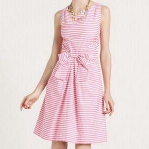 Kate Spade Jillian dress pink/white striped